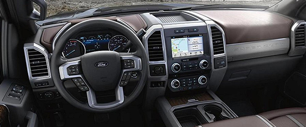 2017 F-250 Super Duty interior