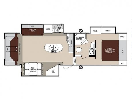 2015 Forest River Sandpiper Select 329RE
