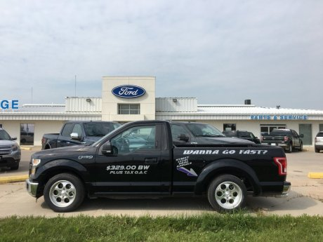 2016 Ford F-150 Regular Cab 4X2 Lowered XLT
