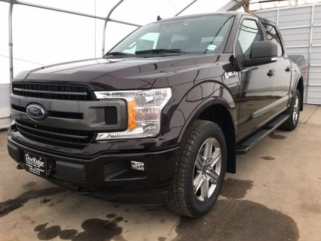 2018 Ford F-150 XLT SPORT 4x4 Supercrew-145