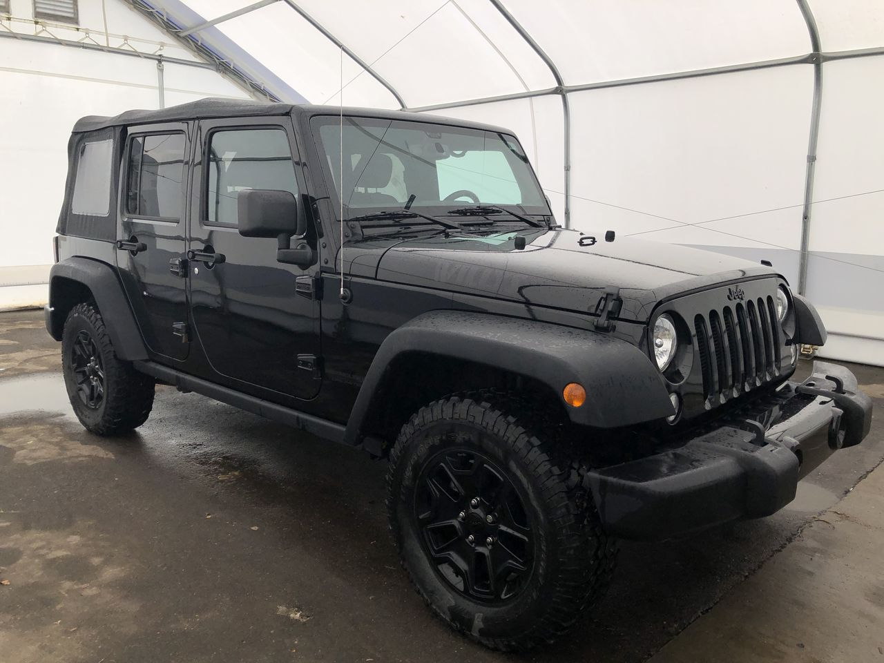 2018 Jeep Wrangler JK Unlimited Willys Wheeler (N6430A) Main Image