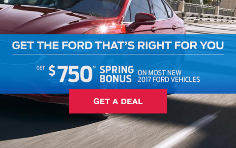 Get the Ford That's Right For You